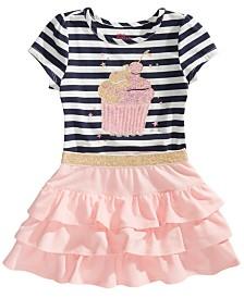 Epic Threads Little Girls Cupcake T-Shirt & Ruffled Skirt, Created for Macy's