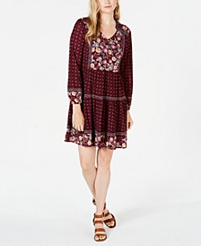 Printed Peasant Dress, Created for Macy's