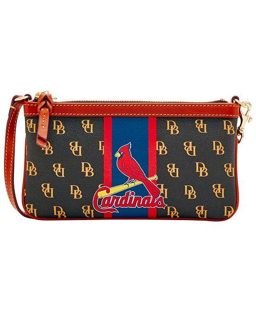 Dooney & Bourke St. Louis Cardinals Large Slim Stadium Wristlet