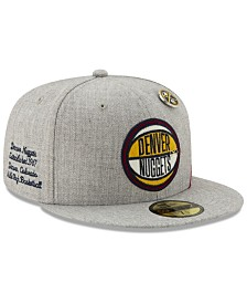 New Era Denver Nuggets 2019 On-Court Collection 59FIFTY Fitted Cap