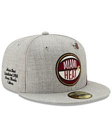 New Era Miami Heat 2019 On-Court Collection 59FIFTY Fitted Cap