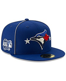 Toronto Blue Jays All Star Game Patch 59FIFTY Cap