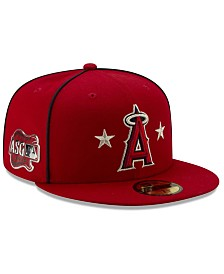 New Era Little Boys Los Angeles Angels 2019 All Star Game Patch 59FIFTY Fitted Cap