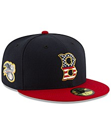 Boston Red Sox Stars and Stripes 59FIFTY Cap