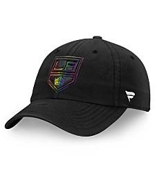 Authentic NHL Headwear Los Angeles Kings Pride Fundamental Strapback Cap
