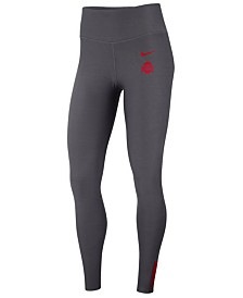 Nike Women's Ohio State Buckeyes Power Sculpt Leggings