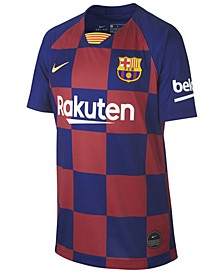 Big Boys FC Barcelona Club Team Home Stadium Jersey