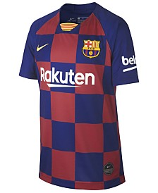 Nike Big Boys FC Barcelona Club Team Home Stadium Jersey