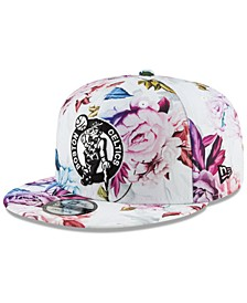 Boston Celtics Funky Floral 9FIFTY Cap