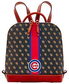 Chicago Cubs Zip Pod Stadium Signature Backpack