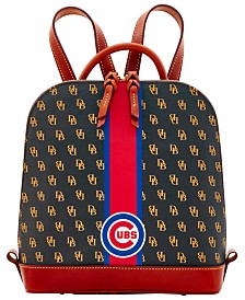 Dooney & Bourke Chicago Cubs Zip Pod Stadium Signature Backpack