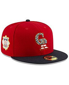 Boys' Colorado Rockies Stars and Stripes 59FIFTY Cap