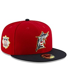 Boys Miami Marlins Stars and Stripes 59FIFTY Cap