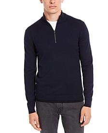 Men's Quarter-Zip Sweater, Created For Macys