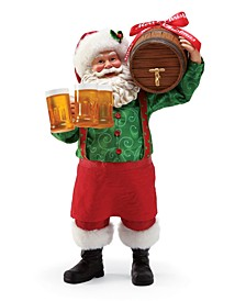 Possible Dream Santa Christmas Brew Figurine