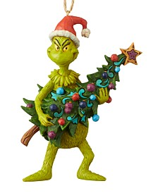 Jim Shore Grinch with Tree Ornament