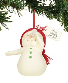 Department 56 Snowpinions The Nose Knows Ornament