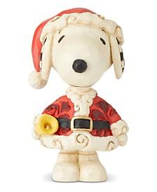 Jim Shore Mini Santa Snoopy