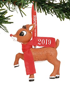 Department 56 Disney Rudolph 2019 Dated Ornament
