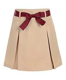 Big Girls Plus-Size Pleated Scooter Skirt