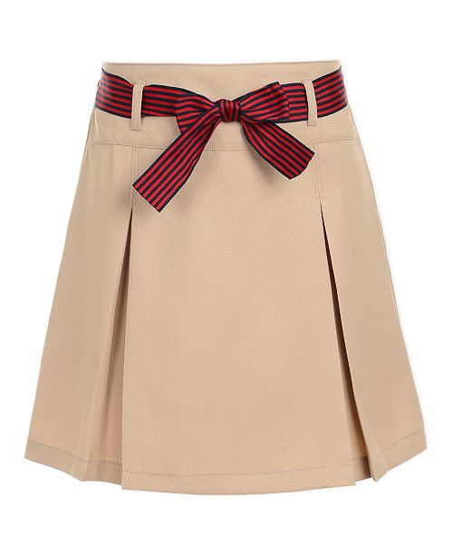 Nautica Big Girls Plus-Size Pleated Scooter Skirt