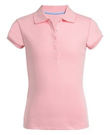 Big Girls School Uniform Polo