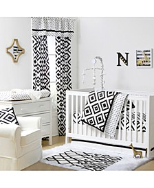 Deco Diamond 3-Piece Crib Bedding Set