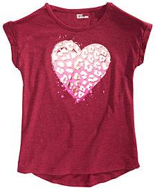 Epic Threads Big Girls Animal Heart T-Shirt, Created for Macy's