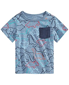Toddler Boys Dinosaur T-Shirt, Created for Macy's