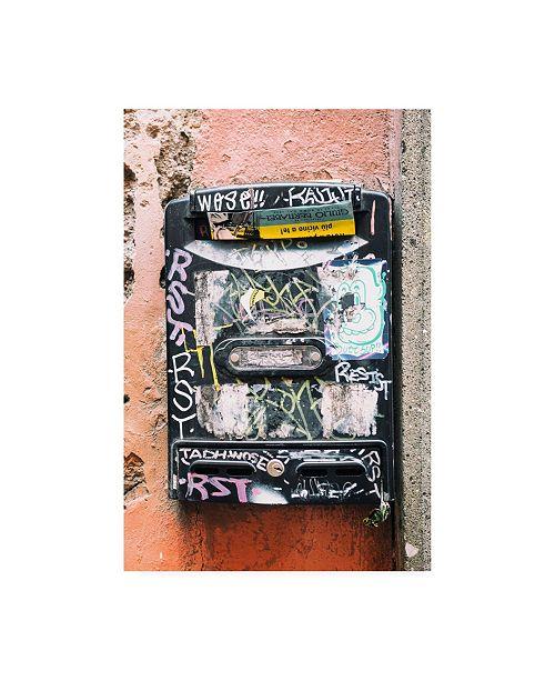 "Trademark Global Philippe Hugonnard Dolce Vita Rome Letters Box III Canvas Art - 19.5"" x 26"""