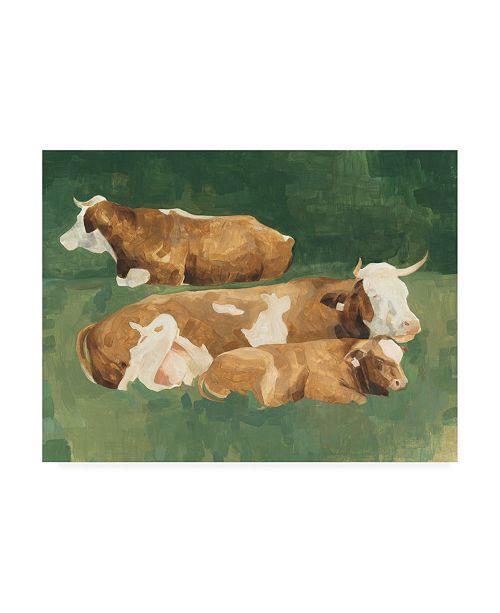 "Trademark Global Emma Scarvey Bucolic Sunday II Canvas Art - 27"" x 33.5"""
