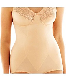 Soft Cup Lace and Satin Body Briefer