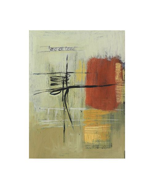 """Trademark Global Pablo Esteban Rust and Neutral Abstract Canvas Art - 19.5"""" x 26"""""""