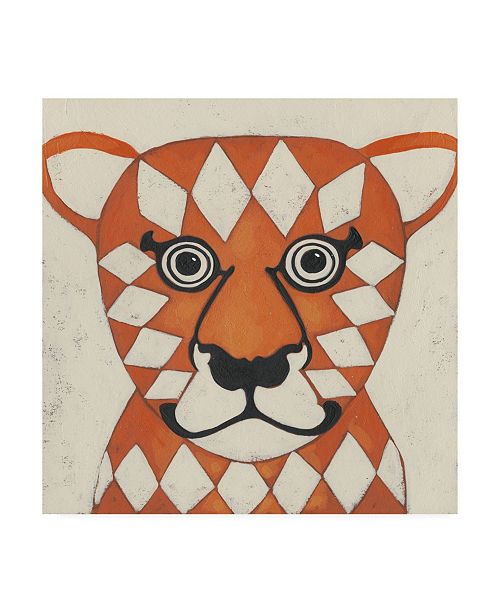 "Trademark Global Chariklia Zarris Zoo Portrait II Canvas Art - 15.5"" x 21"""