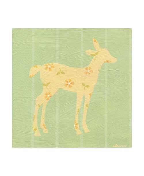 "Trademark Global June Erica Vess Cottage Cuties I Canvas Art - 15.5"" x 21"""