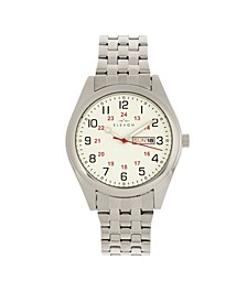 Men's Gann Alloy Bracelet Watch 41mm