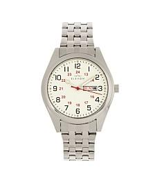 Elevon Men's Gann Alloy Bracelet Watch 41mm