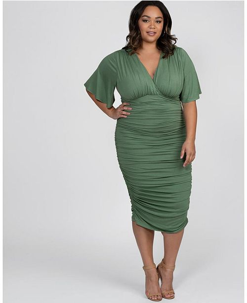 Women\'s Plus Size Rumor Ruched Dress