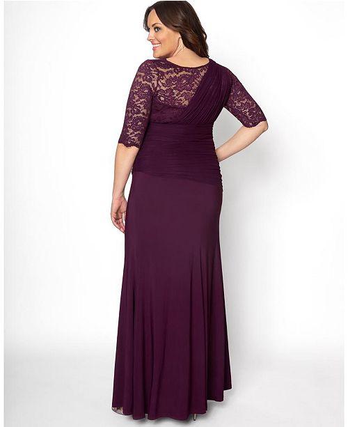 Women\'s Plus Size Soiree Evening Gown