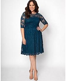 Women's Plus Size Luna Lace Dress