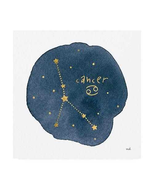 "Trademark Global Moira Hershey Horoscope Cancer Canvas Art - 36.5"" x 48"""