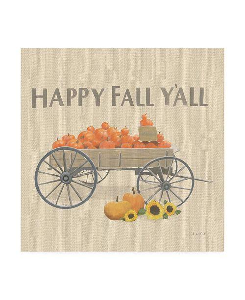 "Trademark Global James Wiens Heartland Harvest Moments IV Happy Fall Canvas Art - 19.5"" x 26"""