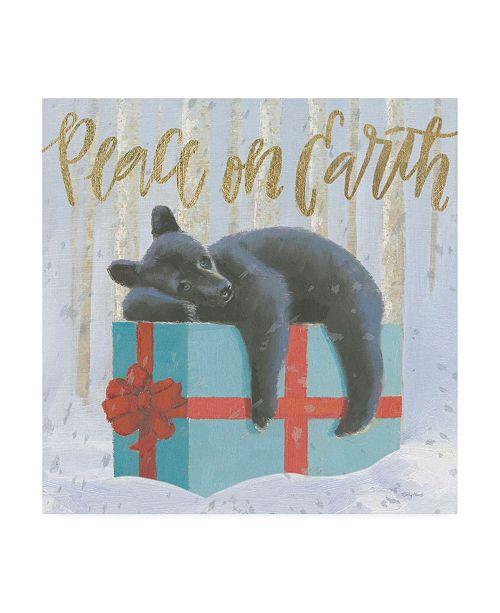 "Trademark Global Emily Adams Christmas Critters Bright II Canvas Art - 19.5"" x 26"""
