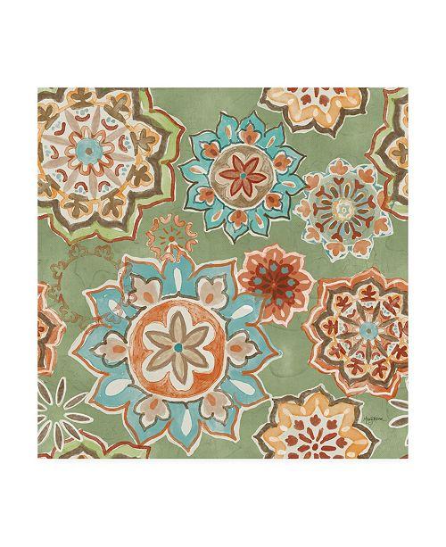 "Trademark Global Mary Urban Autumn Friends Pattern IF Canvas Art - 15.5"" x 21"""