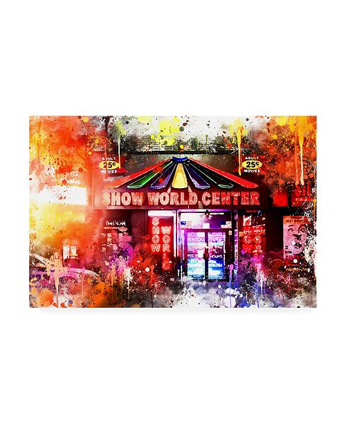 """Trademark Global Philippe Hugonnard NYC Watercolor Collection - 25 Cents Canvas Art - 27"""" x 33.5"""""""