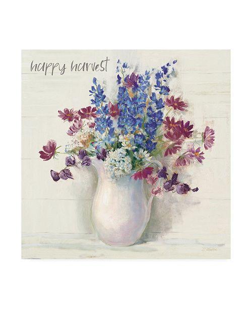 "Trademark Global Carol Rowan Harvest Ironstone Bouquet II Canvas Art - 36.5"" x 48"""
