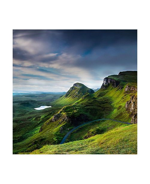 "Trademark Global Lynne Dougla Summer on the Quiraing Canvas Art - 15.5"" x 21"""
