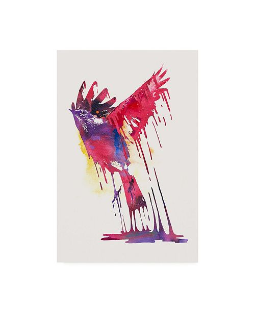"Trademark Global Robert Farka The Great Emerge Bird Canvas Art - 36.5"" x 48"""