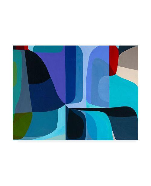 "Trademark Global Marion Gries Merging Waters Canvas Art - 19.5"" x 26"""