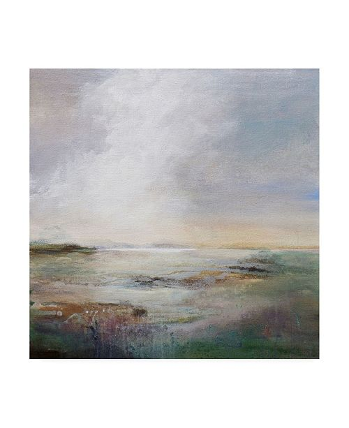 "Trademark Global Karen Hal Morning Light Abstract Canvas Art - 19.5"" x 26"""